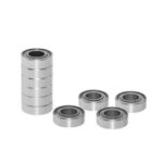 New              TWO TREES® 10Pcs Full Metal Flange Ball Bearing 608/623/624/625/626/688zz Deep Groove Flanged Pulley Wheel for 3D Printer
