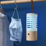 New              UV Ozone Light LED Portable Kill Dust Mite Bulb Disinfection Lamp UVC Sterilizer For Bedroom