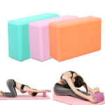 New              120g EVA Solid Yoga Blocks Home Pilates Aid Bolster Pillow Cushion Indoor Gym Yoga Exercise Tools