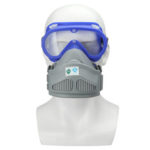 New              Full Face Respirator Gas Mask Goggles Anti- Dust Cover Safety Chemical Filter