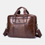 New              Genuine Leather Vintage Handbag Shoulder Bag Messenger Bag For Men