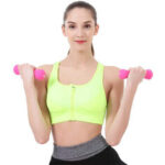 New              2 Pcs 0.5/1.5/2kg Dumbbell Strength Training Home Gym Fitness Sport Exercise Tools