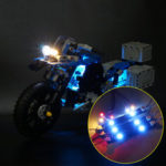 New              DIY LED Light Lighting Kit ONLY For LEGO 42063 For BMW R 1200 GS Adventure Technic Series Motorcycles Bricks Toys