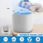 New              Electric Fly Bug Zapper Mosquito Insect Killer LED Trap Pest Control USB Lamp