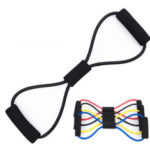 New              8-Shaped Fitness Resistance Bands Home Sports Chest Dilator Rope Muscle Training Elastic Yoga  Band
