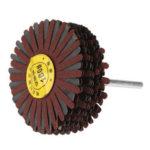 New              6x80mm Sanding Wheel Sandpaper Drum 80/120/180/320 Grit Polishing Wheel Abrasive Tool