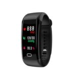 New              Bakeey Color Screen Wristband Heart Rate Blood Pressure Monitor USB Charging Fitness Tracker IP68 Smart Watch