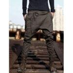 New              Mens Harem Pants Baggy Slacks Trousers Sportwear Casual Jogger Pants