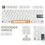New              116 Keys/set Keycaps XDA Profile DYE-Sub PBT 2.25U 2U 1.75U Key Cap Compatible with GH60 GK61 GK64 87 96 104 108 Shiba Inu Theme Mechanical Keyboard