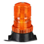 New              12V-24V 30 LED 5730 Rotating Flashing Amber Beacon Flexible Tractor Warning Light For ATV Boat Truck Agricultural Machiney Vehicle