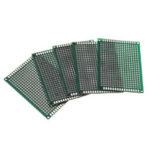 New              5pcs 5x7cm 5*7 Double Side Prototype PCB DIY Universal Printed Circuit Board