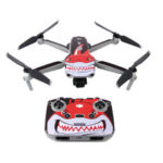 New              Sunnylife Waterproof Anti-Scratch Drone Body&Remote Controller PVC Sticker for DJI Mavic Air 2 RC Quadcopter