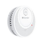 New              BlitzWolf® BW-OS1 Stand-alone Smoke Detector Rechargeable Fire Alarm Sensor