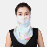 New              Breathable Quick-drying Summer Outdoor Riding Printing Neck Protector Sunscreen Scarf Anti-UV Bandana