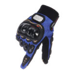 New              Off-road Riding Full Finger Gloves Touch Screen Motorcycle MTB Bicycle Bike Sport Warm Blue