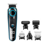 New              110V-240V USB Rechargable Hair Clipper Multifunctional Hair Trimmer Electric Shaver Razor 10 Gear Adjustable Limit Comb