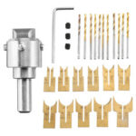 New              13/16/24Pcs Wooden Bead Maker Beads Drill Bit Milling Cutter Set Woodworking Tool Kit