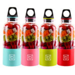 New              USB Charging Portable Four Leaves Juicer Cup Home Fruit Vegetable Tool For Kitchen