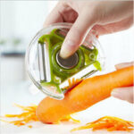 New              Vegetable Fruit Slicer Multi-function Peeler Stainless steel Cutting Gadgets Potato Carrot Slicing Tool