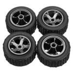 New              4PCS KYAMRC 2811 Original Tires Wheels Rims 1/20 RC Car DIY Models Vehicles Parts