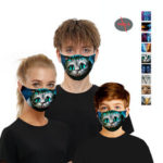 New              Animal series-5 Layers Anti PM2.5 Dust-proof Face Mask Breathable Protective Mask Windproof For Outdoor Sports Cycling Climbing