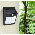 New              Solar Sensor Light 50/70 / 90led Human Body Induction Wall Light Small