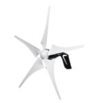 New              4000W Power Wind Turbines Generator 5Blades + DC12/24V Charge Controller