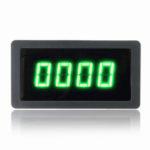 New              4 Digital Green LED Tachometer RPM Speed Meter With NPN Hall Proximity Switch Sensor