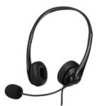 New              Wired USB Mic Headphones Volume Control Stereo Computer Headsets For PC Laptop