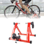 New              DETER MT-03 26-28 inch Red Bike Roller Trainer Training Stand Indoor Bicycle Rack Cycling Platform Bike Holder