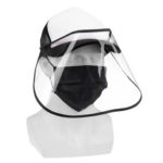 New              Protective Cap Hat Cover Safe Prevent Droplet Splash-Proof Outdoor Anti-spitting