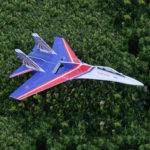New              SU27 5mm PP 650mm Wingspan Glue-N-Go Foamboard RC Airplane KIT