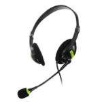 New              USB Wired Computer Headset Stereo Headphone Noise Cancelling Mic For PC Laptop