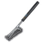 New              BBQ Grill Brush Scrubber Barbecue Cleaning Tool Wire Cleaner