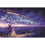 New              1000 Pieces Of Jigsaw Puzzle Star Sky Ocean Train Series Jigsaw Puzzle Indoor Toys