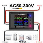 New              APP Control AC Meter AC30-500V 30A Digital Voltage Power Energy Voltmeter Ammeter Current Amps Volt Wattmeter Tester Detector