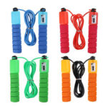 New              287cm Skipping Rope Adjustable Fast Speed Rope Jumping Sport Fitness Rope