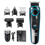 New              100-240V Rechargable Hair Clipper Multifunctional Hair Trimmer Electric Shaver Razor For Face Beard Moustache Barber.