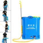 New              Agricultural Electric Fogger Sprayer Backpack 12V Rechargeable Battery