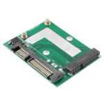 New              mSATA SSD to 2.5 Inch SATA 6.0GPS Adapter Converter Card Module Board Mini Pcie SSD Compatible SATA3.0Gbps/SATA 1.5Gbps