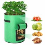 New              2pcs Grow Bags Tvird Planter Pot Fruit Flower Vegetable Tomato Potato Reusable Bag