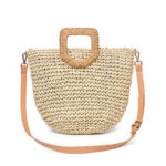 New              Women Summer Beach Bag Travel Straw Top Handle Big Capacity Handbag