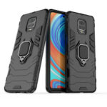 New              Bakeey Armor Shockproof Magnetic with 360 Rotation Finger Ring Holder Stand PC Protective Case for Xiaomi Redmi Note 9S / Redmi Note 9 Pro / Redmi Note 9 Pro Max