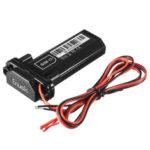New              Enusic™ 9V-75V Micro GPS Tracker Waterproof Locator Motorcycle Car Electric Bike Scooter Power Standby Burglar Alarm