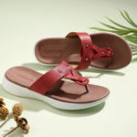 New              LOSTISY Women Flip Flop Rivet Summer Beach Casual Flat Sandals