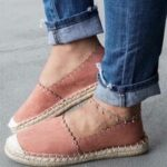 New              Women Casual Comfy Breathable Espadrille Flat Slip On Flats