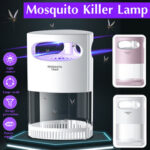 New              Mosquito Killer Lamp USB Electric Photocatalytic Bug Repellent Insect Trap Light