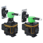 New              16/12 Line 3D Green Light Laser Level Self Leveling 360° Rotary Measure Machine