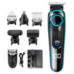 New              SH-1831 5 In 1 Multifunctional  Electric Hair Clipper Shaver USB Charging Beard Shaver Body Trimmer Nose Trimmer for Home Man Child Hair Cutting