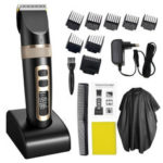 New              Professional Hair Trimmer Electric Hair Clipper For Men Children And Beards Hair Shaving Haircut Cutting Rechargeable Machine